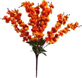 Yash Enterprises Gold cherry Blossom 12 Stems Assorted Artificial Flower Gold Assorted Artificial Flower