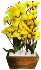 Kaykon Yellow Wild Flower Artificial Flower