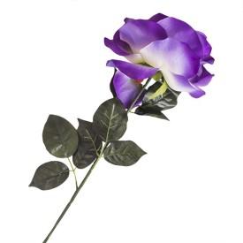 E-Plant Purple Rose Artificial Flower