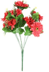 JB Collection Red Artificial Flower