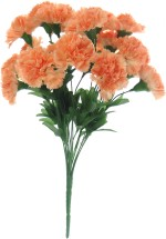 Fourwalls Orange Carnations Artificial Flower