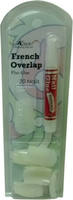 Konad Artificial Nails Konad French Overlap