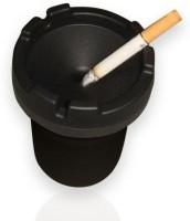 Speedwav Fits In Glass Holder Black Plastic Ashtray (Pack Of 1)