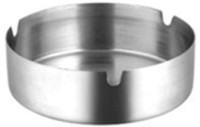 Ridhi Sidhi Ezone 1025 Steel Stainless Steel Ashtray (Pack Of 1)