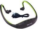 Captcha Sports Supreme With Micro SD Card Slot And FM Wireless Design 8 GB MP3 Player (Green)
