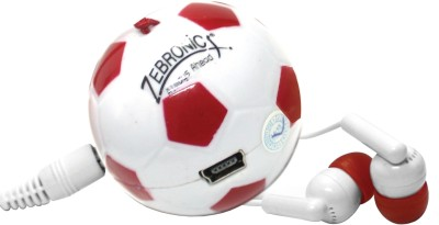 Zebronics Football MP3 Player