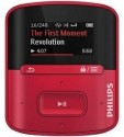 Philips GoGear RaGa 4 GB MP3 Player - Red, 1 inch Display