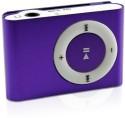 Expedite Metal Clip Shuffle 8 GB MP3 Player Player (Purple, 0 Display)
