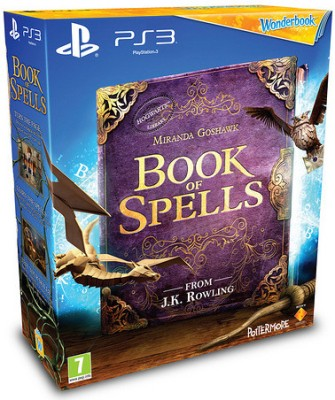 Buy Wonderbook: Book Of Spells (Move Required): Av Media