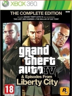Buy Grand Theft Auto IV & Episodes From Liberty City (Complete Edition): Av Media