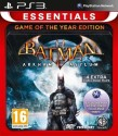 Batman: Arkham Asylum (Game Of The Year Edition) [Essentials] - Games, PS3
