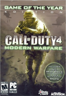 Buy Call of Duty 4 : Modern Warfare (Game Of The Year Edition): Av Media