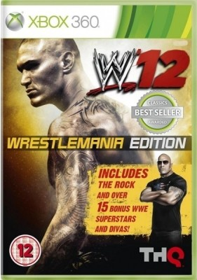 Buy WWE 12 ( Wrestlemania Edition): Av Media