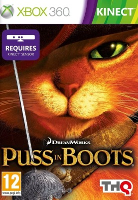 Buy Puss In Boots (Kinect Required): Av Media