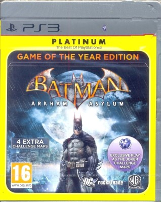 Buy Batman: Arkham Asylum (Game of The Year Edition): Av Media