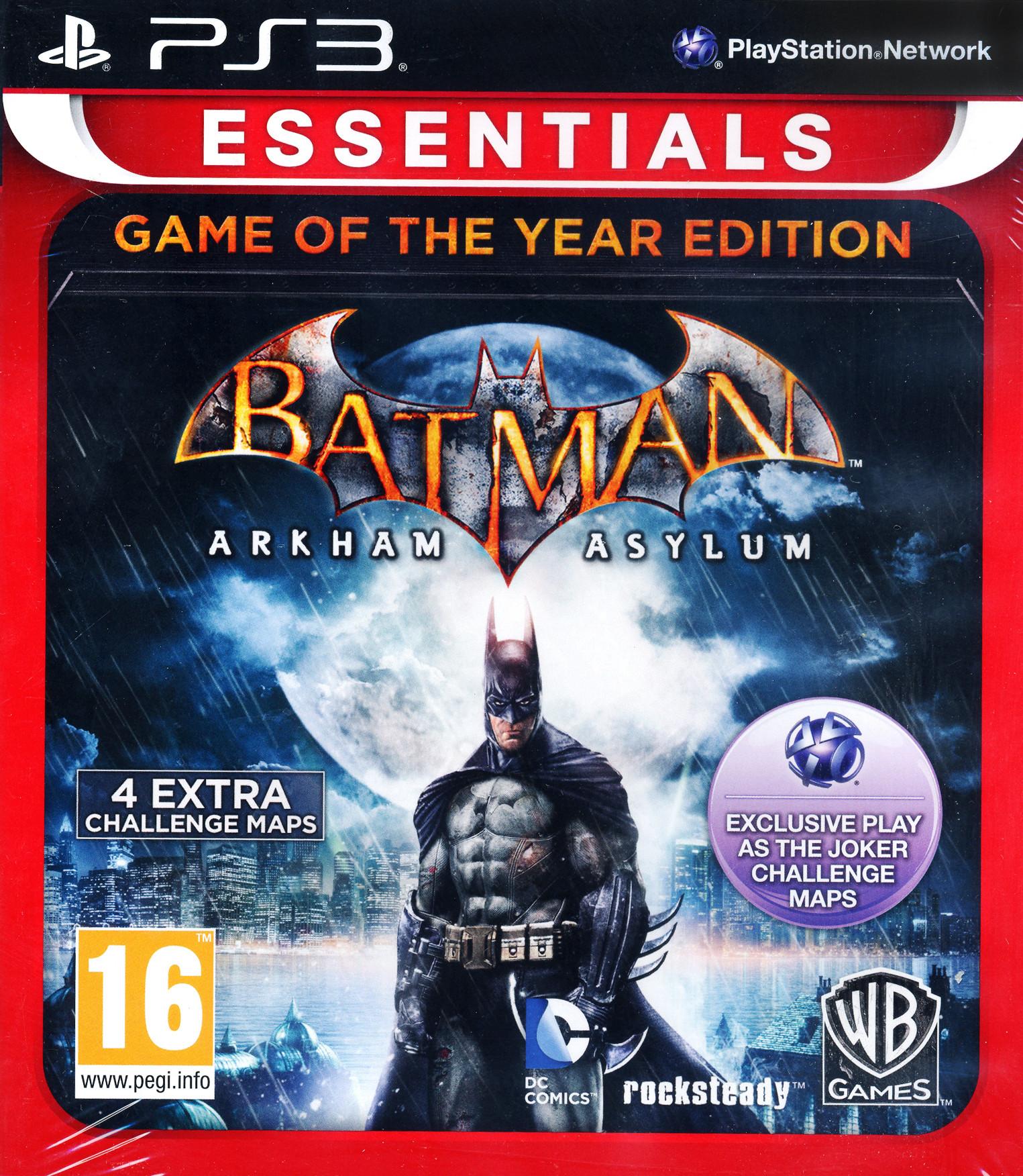 Batman: Arkham Asylum Game of the Year | PC - Steam | Game ...
