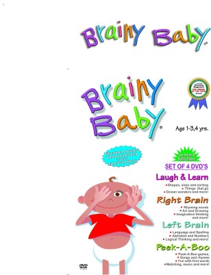 Brainy Baby Laugh Learn DVD (NR) +Movie Reviews