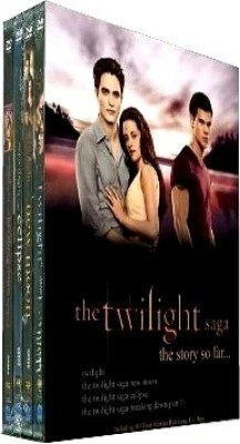 Buy The Twilight Saga Boxset (4 Movies DVD Pack): Av Media