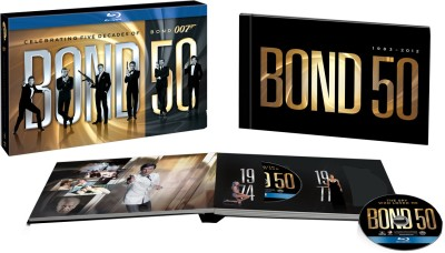 Buy James Bond 50th Anniversary Bluray Box Set (Complete Collection): Av Media
