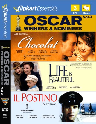 Buy Flipkart Essentials : Oscar Winners & Nominees Vol. 3: Av Media
