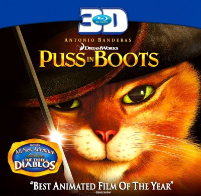 Buy Puss In Boots 3D: Av Media