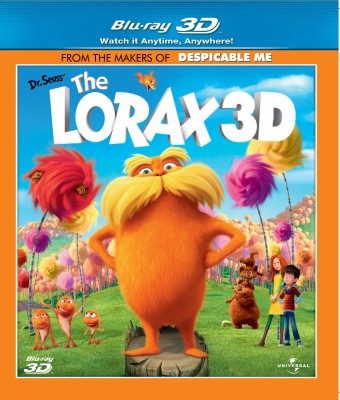 Buy The Lorax 3D: Av Media