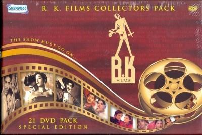Buy R K Films Collectors 21 DVD Pack - The Show Must Go On: Av Media