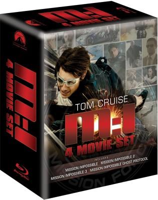 Buy Mission Impossible Quadrilogy (4 Movie Box Set): Av Media