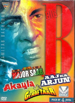 Buy The Big B Pack of 4 DVD's: Av Media