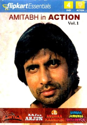 Buy Flipkart Essentials : Amitabh In Action Vol. 1: Av Media