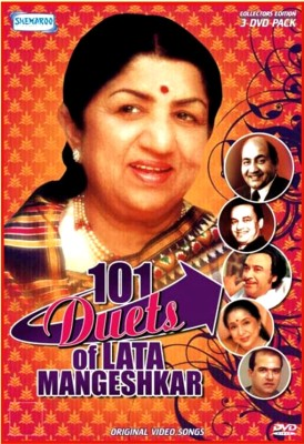 Buy 101 Duets Of Lata Mangeshkar: Av Media