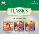 Classics - The Genius Of Shobha Gurtu / Classical Treasures Vol. 1 / Classical Treasures Vol. 2: Av Media