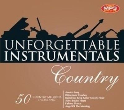 Buy Unforgettable Instrumentals -Country: Av Media