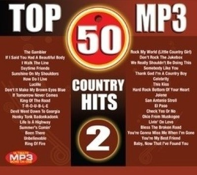Buy Top 50 MP3-Country Hits - 2: Av Media