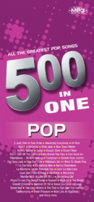 Buy 500 In 1: All The Greatest Pop Songs: Av Media