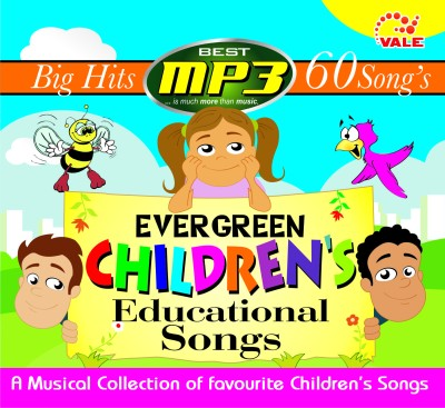 Buy Evergreen Children's Educational Songs: Av Media