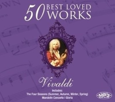 Buy 50 Best Loved Works - Vivaldi (Instrumental) (Cover Version): Av Media