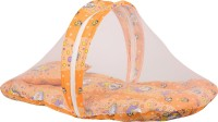 Knotty Kids Baby Bedding Set With Mosquito Net Standard Bunk (Cotton, Orange)