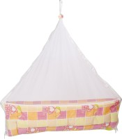 Blue Berrys Baby Jhoola Convertible Crib (Cotton, Pink)