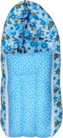 Sathiyas 3 In 1 Baby Carry Bed Convertible Crib (Cotton, Blue)