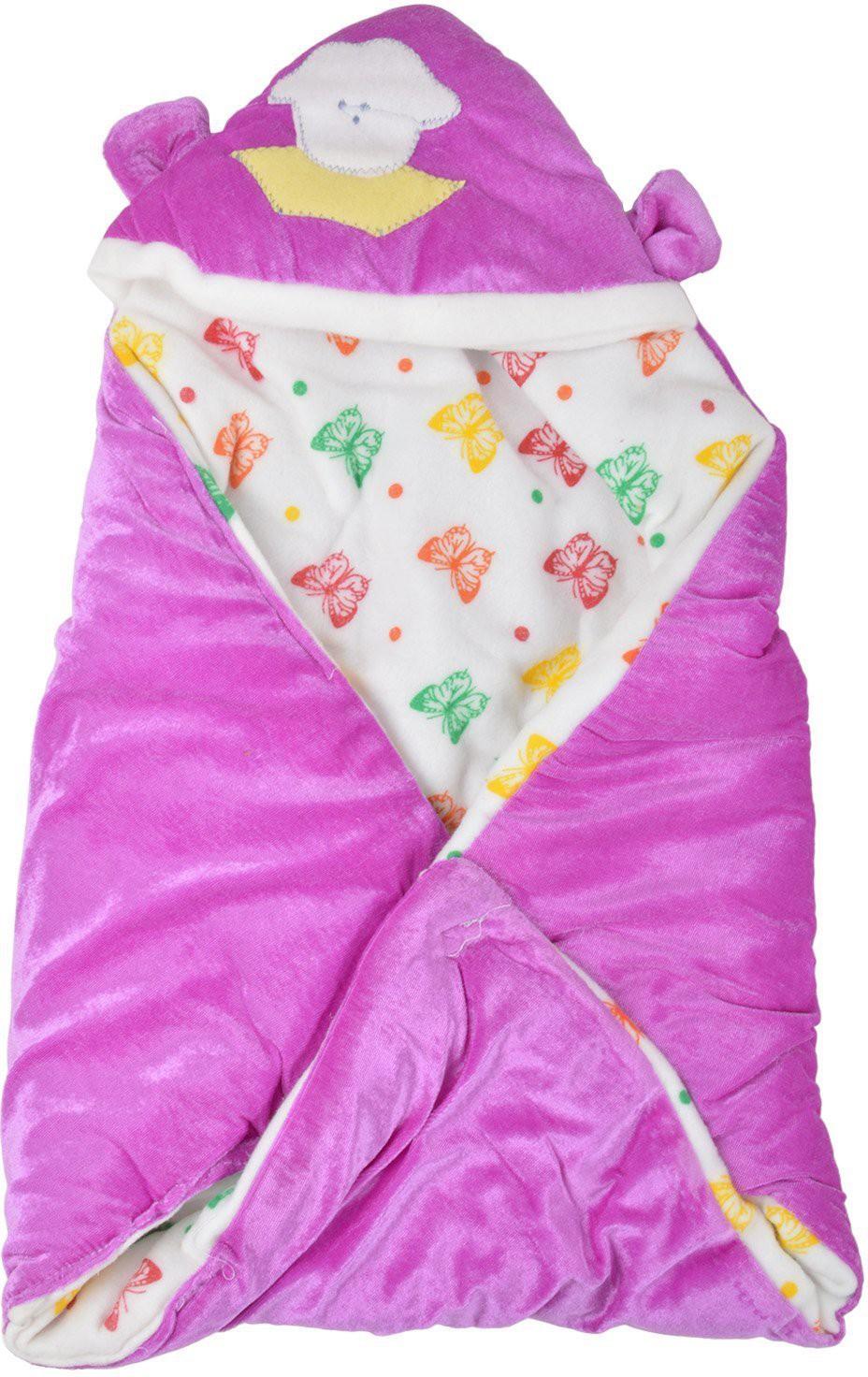 Baby bed online flipkart - Star Trendz Animal Crib Dohar Purple