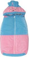 Kidz Corner Baby Wrap Non-convertible Bunk (High Density Fibre, Blue-Pink)
