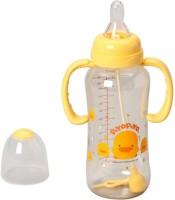 Piyo Piyo PES Nursing Bottle - 300 Cc (Transparent/Yellow)