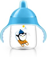Baby Bucket Premium Spout Cup - 330 Ml (Blue)