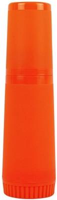 Farlin Insulated Feeding Bottle - 250 Cc (Orange)