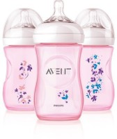 Philips Avent Free Natural Polypropylene Bottle - 266 Ml (Pink)