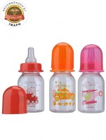 Mee Mee PREMIUM FEEDING BOTTLE� - 120 Ml (Multi)