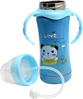 Kidzvilla Baby Mattel Feeding Bottle Blue - 250 Ml (Blue)