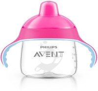 AVENT PREMIUM SPOUT CUP PINK 18M+ (340ML / 12OZ) - 340 Ml (Multicolor)