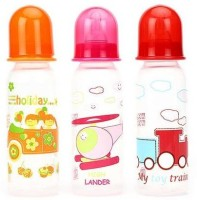 Mee Mee Premium Feeding Bottle (Set Of 3) - 250 Ml (Multicolor)